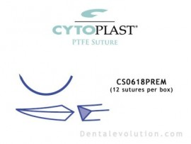 CS-0618 Premium (12 sutures per box)